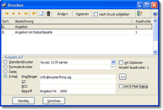 Hilfe Amicron Software